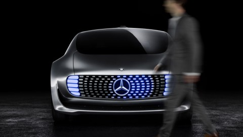 Mercedes Concept Car at the Consumer Electronics Show in Las Vegas