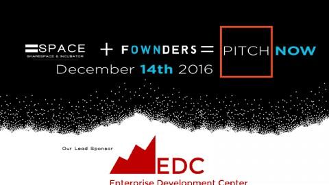 Pitch Now Lead Sponsor: NJIT EDC