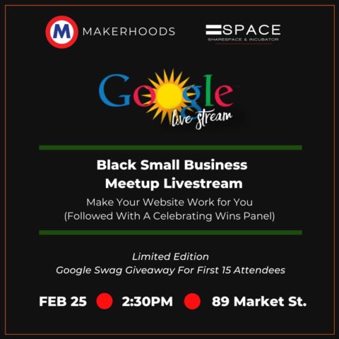 Google Black Small Business Livestream: Make Your Website Work for You
