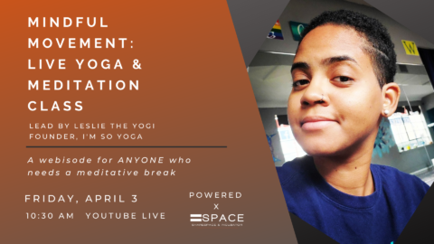 Mindful Movement: Live Yoga & Meditation Class