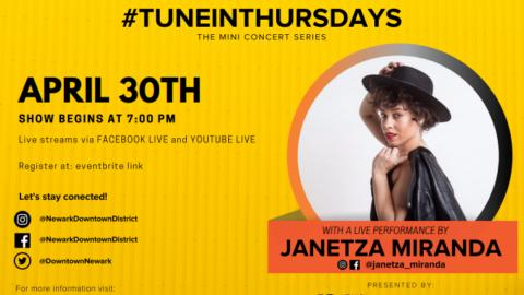 #TuneInThursdays with Janetza Miranda