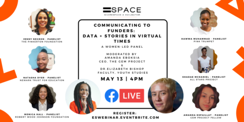Communicating to Funders: Data + Stories in Virtual Times