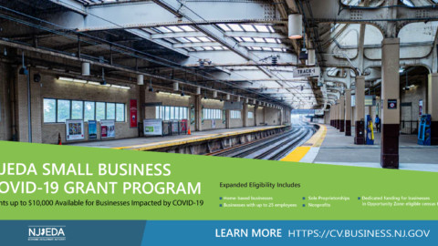 NJEDA Small Business Emergency Assistance Grant [Phase 2]